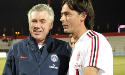 Ancelotti remercie Inzaghi, Gattuso et Nesta