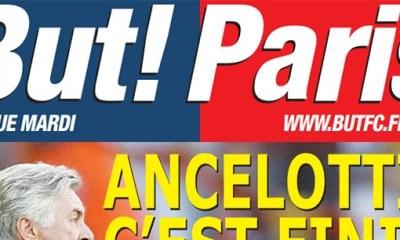 But! Paris : Ancelotti à la Une
