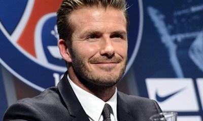 Beckham veut imiter Giggs et Scholes