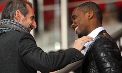Eto'o : « Beckham au PSG ? C'est bien pour nous »