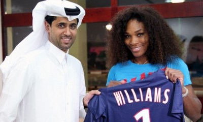 Serena Williams a aussi son maillot du PSG