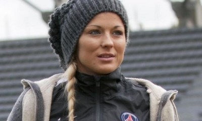 Féminines PSG Laure Boulleau remise de ses affaires, prête pour la finale