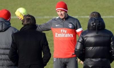 Beckham veut parler le français au PSG