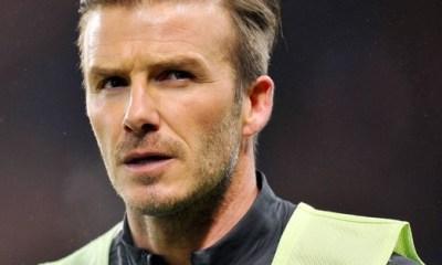 Beckham confirme que le PSG souhaite qu'il reste