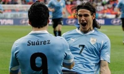L'Uruguay de Cavani qualifié pour le Mondial