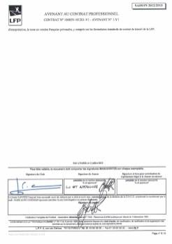 Les détails du contrat de Lavezzi dévoilés