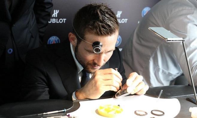 Hublot dévoile sa montre aux couleurs du PSG