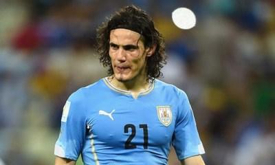 PSG - L'Uruguay sans Cavani contre la Bolivie et la Colombie