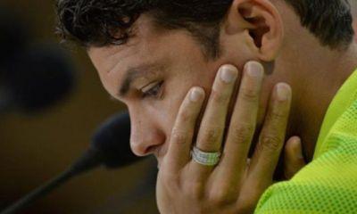 Thiago Silva réagit sur son carton