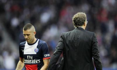 Laurent Blanc et Ménez ne sont plus des amis
