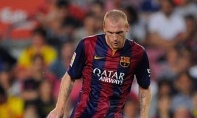 LDC - Jérémy Mathieu, défenseur du FC Barcelone, ne souhaite pas rencontrer le PSG