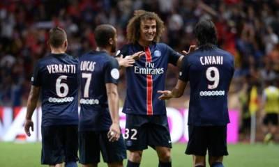 David Luiz «nous avons bien joué avec cohésion sans laisser aucune chance à l'adversaire»