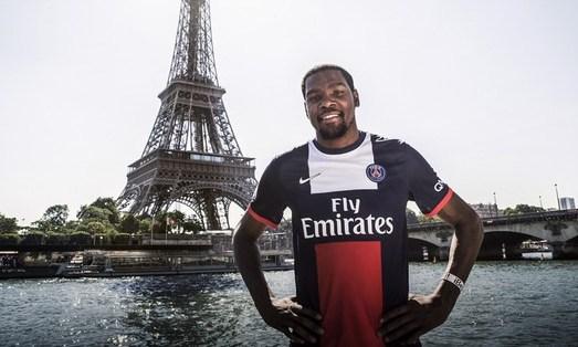 Les Parisiens peuvent compter sur le soutien de Kevin Durant