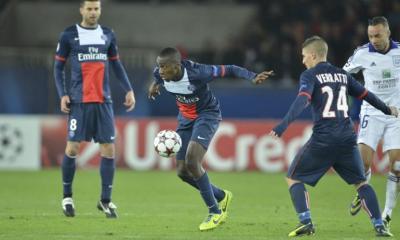 PSG / Rennes - Matuidi incertain à cause de son genou, Motta devrait être dans le groupe