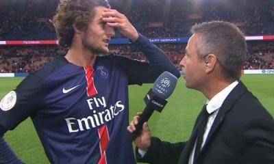 "PSG/SCO - Rabiot : ""On verra plus tard pour Chelsea"""