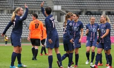 Féminines - Nouveau large succès pour les parisiennes