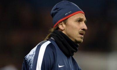 Zlatan Ibrahimovic n'a pas pris part à la séance d'entraînement avec le groupe