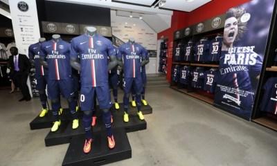 Le merchandising du PSG en grand progrès, les ambitions ne s'arrêtent pas là