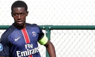 Mamadou Doucouré en entraînement avec les pros