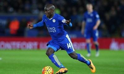 """N'Golo Kanté """"Mon avenir ? Je suis ici et je reste ici...je suis heureux à Leicester"""""""