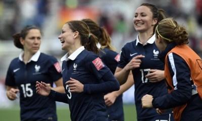 7 parisiennes avec l'Equipe de France