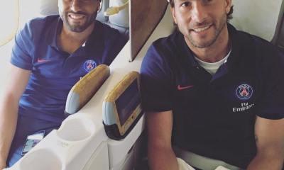 Les images partagées par les joueurs du PSG ce jeudi Voyage vers Los Angeles