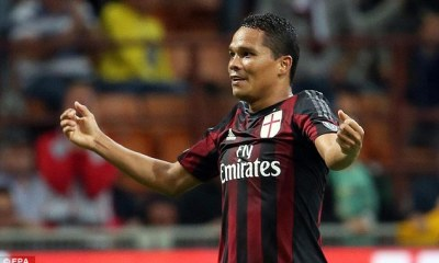 Mercato - Carlos Bacca, l'AC Milan aurait accepté l'offre de 30 millions d'euros de West Ham