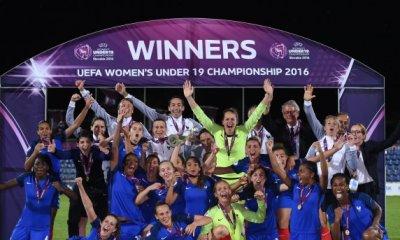 Deux parisiennes permettent à l'EDF U19 d'être Championne d'Europe