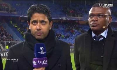 """Al-Khelaïfi """"c'était important de gagner ici et qu'on montre qu'on est une grande équipe"""""""