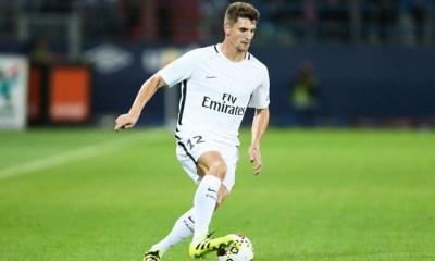 """Thomas Meunier """"nous avons décidé de le laisser repartir à Paris"""", annonce le Roberto Martinez"""