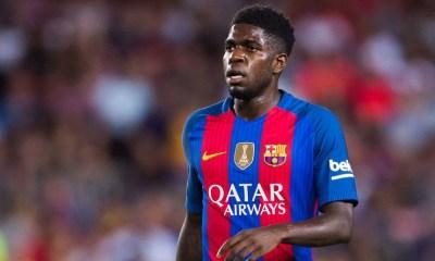"""PSG/Barça - Umtiti """"un très gros match...ils ont des joueurs qui peuvent nous mettre en difficulté"""""""