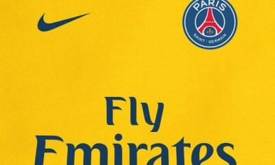 Le maillot extérieur du PSG sur la saison 2017-2018 sera jaune, confirme FootyHeadlines