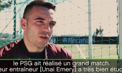 Aspas «Le plus important, ce n'est pas que Barcelone ait perdu, mais que le PSG ait réalisé un grand match»
