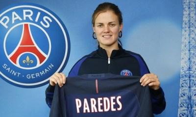Feminine : Paredes « Prolonger au Paris Saint-Germain est une vraie fierté »