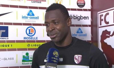 """Metz/PSG - Diabaté """"Paris a une bonne équipe, on n'a pas de chance"""""""
