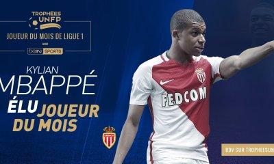 Ligue 1 - Kylian Mbappé élu meilleur joueur du mois d'avril devant Cavani