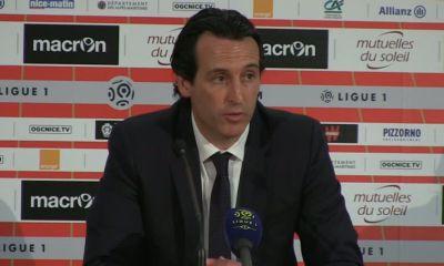 Nice/PSG : Emery « c'est dur pour nous »