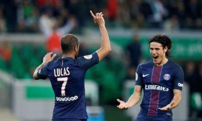 """Lucas """"Cavani c'est un buteur incroyable, qui nous apporte beaucoup »"""