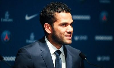 """AS Rome/PSG - Dani Alves """"Je suis content de mes premiers pas avec le club"""""""