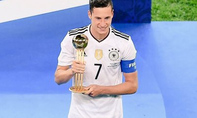 Julian Draxler élu meilleur joueur de la Coupe des Confédérations