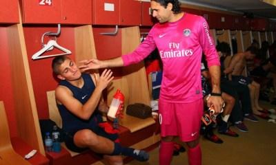 """Sirigu """"Si Verratti partir du PSG, ce serait comme tuer le football de le garder"""""""