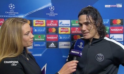 "Celtic Glasgow/PSG : Cavani ""Paris a fait un grand match pendant 90 minutes..."""