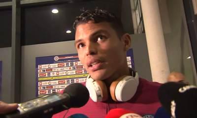 """Montpellier/PSG: Thiago Silva """"C'était impraticable. C'est impressionnant"""""""