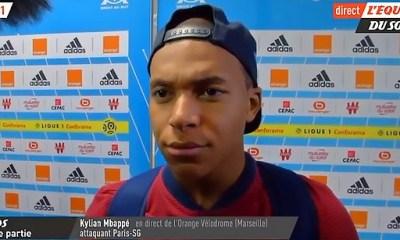 """OM/PSG: Mbappé """"Quand je signe, on ne me dit pas de gagner le Clasico"""""""