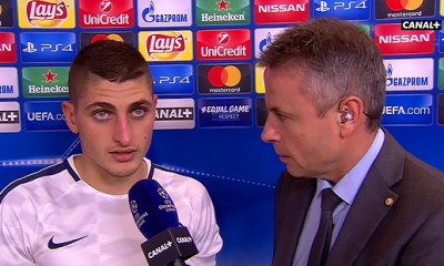 """Anderlecht/PSG - Verratti """"Dur de faire mieux que 0-4 ? Oui, mais c'est bien d'y penser"""""""