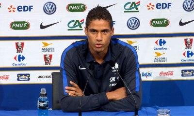 """Varane """"Cet été, le PSG s'est bien renforcé. Il a les qualités pour aller loin"""""""