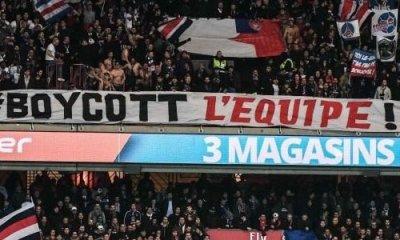 Le Collectif Ultras Paris appelle de nouveau au boycott de L'Equipe