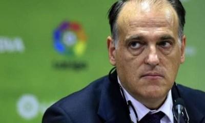 """Tebas """"Je suis certain que le PSG triche. Si l'UEFA ne fait rien, nous remonterons à l'Union Européenne"""""""