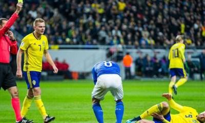 Suède/Italie: 1-0, Une victoire suédoise arrachée entre deux équipes proches. Les notes de la Squadra Azzurra