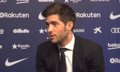 """PSG/Real - Sergi Roberto """"L'année dernière, nous avons pu surmonter un résultat bien pire"""""""